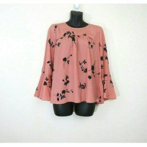 Joie Small 3/4 Sleeve Floral Awilda Blouse Top